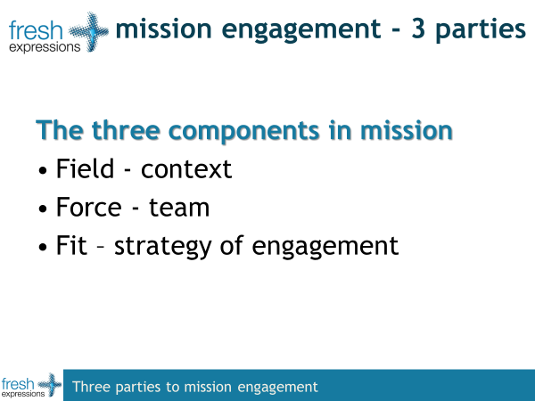 mission engagement - the three parties